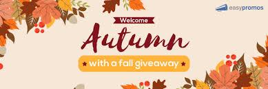these seasonal fall giveaway ideas
