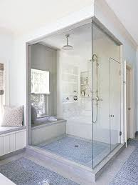 consider construction costs generally building a walk in shower requires gutting walls to access plumbing pipes applying waterproof poly sheeting to the