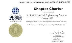 Institute Of Industrial Engineers Iee American University Of Ras