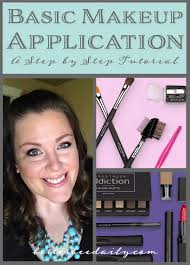 a great step by step tutorial for a basic makeup application learn about brushes and