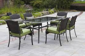 outdoor dining sets for 6. Unique Dining Outdoor Dining Sets For 6 In Amazon Com Providence 7 Piece Patio Set Green  Seats Ideas 11 To A