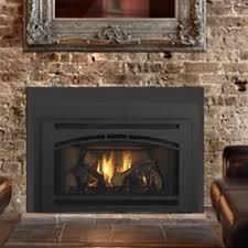 quadra fire gas fireplace insert w affinity front