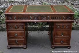 old office desks. old charm tudor oak office writing table pedestal desk old office desks e