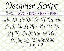 Script Designer Designer Script Svg Font Calligraphy Fonts Cursive Fonts