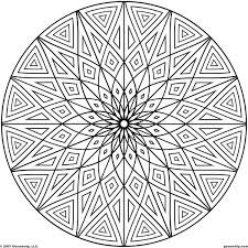 Small Picture Printable Geometric Coloring Pages 20484