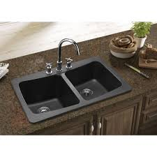 Kitchen Sink Granite Kitchen Black Kitchen Sink With Astini Celso Bowl Black Glass