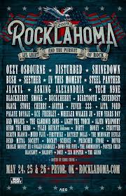 Rocklahoma Seating Chart Rocklahoma 2019 Ozzy Osbourne Disturbed Shinedown Bush