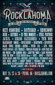 Rocklahoma 2019 Ozzy Osbourne Disturbed Shinedown Bush