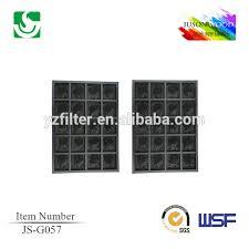 sharp vacuum parts. js-g057 carbon air filter for sharp fp-a60uw and fp-a80uw vacuum parts