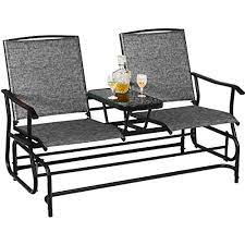 safstar patio glider bench 2