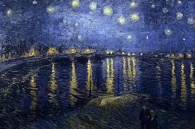 Resultado de imagen de oleo de cielo estrellado siglo xix
