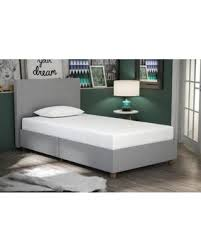 DHP Alexander Upholstered Bed Twin, Multiple Colors