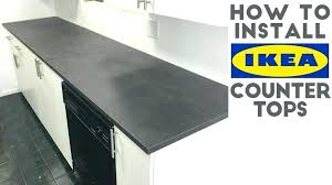install how to laminate quick and easy in kitchen intended for comfortable cost ikea counter tops countertop review inte