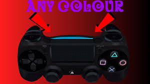 Why Is My Ps4 Controller Light Red How To Change Your Ps4 Controller Light To Any Colour Youtube