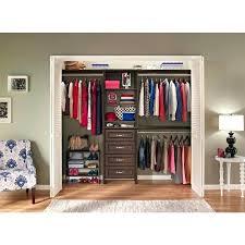 closetmaid closet organizer kit closet maid organizer impressions in chocolate horizontal shelf organizer pics closetmaid 1628
