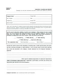 Written Verbal Warning Sample Employee Warning Form Pdf Caudit Kaptanband Co