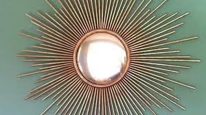 gold sunburst mirror. Small Gold Wall Decor Stunning Design Ideas Sun Mirror Sunflower Decorative Sunburst Decorating For Living Room