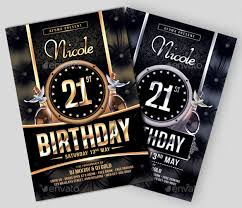 40 Birthday Flyer Templates Sample Example Format Download Unique Free Sample Flyers