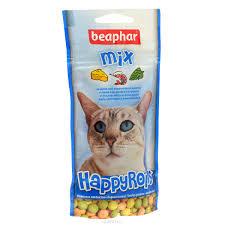 """<b>Лакомство</b> для кошек <b>Beaphar</b> """"Happy Rolls <b>Mix</b>"""", цвет: синий, 80 шт"""