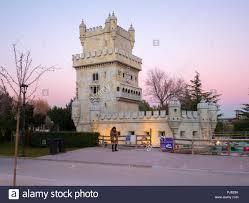 Torre de Belém. Parque Europa. Torrejón de Ardoz. Madrid. España ...