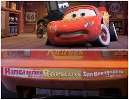 Lighting Mcqueen Stickers Dan The Pixar Fan Cars Lightning Mcqueen With Bumper Stickers