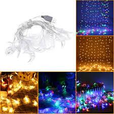 Usb Fairy Lights 3m Usb Moon Shape Warm White Colorful 20 Led String Fairy Light Wedding Holiday Decor Dc5v