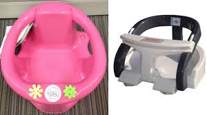 baby bath seats recalled due to drowning hazard