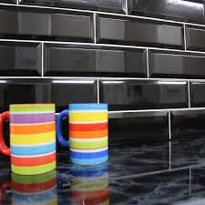 Kitchen Wall Tile Kensington Black Kitchen Wall Tiles Mein Haus References