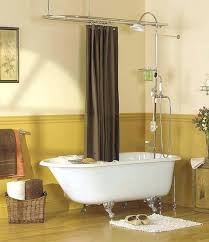 clawfoot tub and shower combo. clawfoot tub and shower combo google searchclawfoot kit ceiling mount conversion canada k