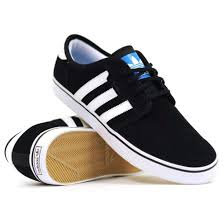 adidas shoes black and white low top. shoes black white stripes swag skater skate shoe adidas fashion unisex and low top