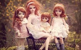 Cute Doll Vintage Wallpaper - Taborat ...