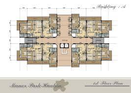 Apartment Building Design Plans And Duplex House Plans Blueprints