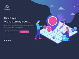 Coming Soon Landing Page By Pratik Malvi On Dribbble