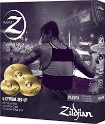 "Zildjian Planet Z PLZ4PK 14"", 16"" and <b>20</b>"" Cymbal <b>Set</b>, 3 <b>Pack</b> ..."
