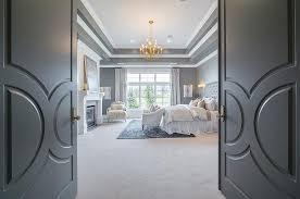bedroom door ideas. Modren Bedroom Gray Double Bedroom Doors With Paneling View Full Size Intended Door Ideas T