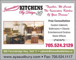... Ad Innovative Kitchens By Design Inc