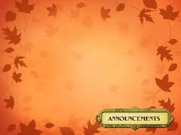 Image Announcements Powerpoint Themes Blown Leaves Christart Com