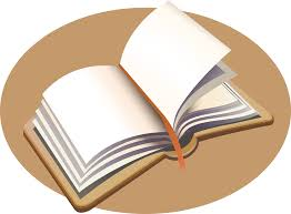 open book with writing