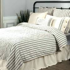 ticking stripe bedding blue striped and red comforter set navy duvet cover grey white reversible na