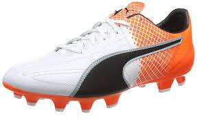 puma king football boots. puma evospeed 35 lth fg football shoe white/black/hot-case of 12 king boots