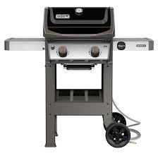 Barbecue au gaz naturel Weber Spirit II E-210, 26 500 BTU, noir 48010001 |  Réno-Dépôt