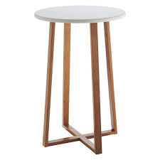White Lacquer Coffee Table Drew Bamboo And White Lacquer Tall Side Table European Flat