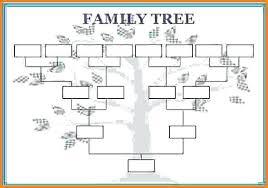 Blank Family Tree 4 Generations Family Tree Chart Printable Family Tree Templates Family
