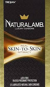 Amazon.com: Naturalamb Natural Skin Condoms, Lubricated, 10 condoms ...