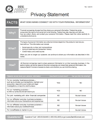 Privacy Policy Sample Template Inspiration Privacy Policy Statement Sample And Privacy Notice 10