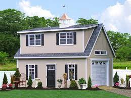 14x24 two story shed garage in