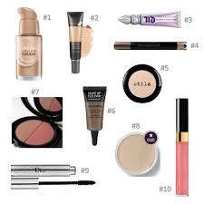makeup step by step with pictures foundation. collage of 10 minute makeup products step by with pictures foundation