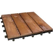Eine wichtige rolle spielt im eigenen zuhause auch stets der fußboden. Klick Fliese Holz Akazie 30 X 30 Cm 6 Stuck Kaufen Bei Obi