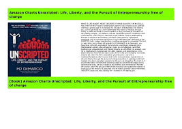 Amazon Charts Unscripted Life Liberty And The Pursuit Of