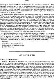 Asa Elections 1986 Asa News Cambridge Core